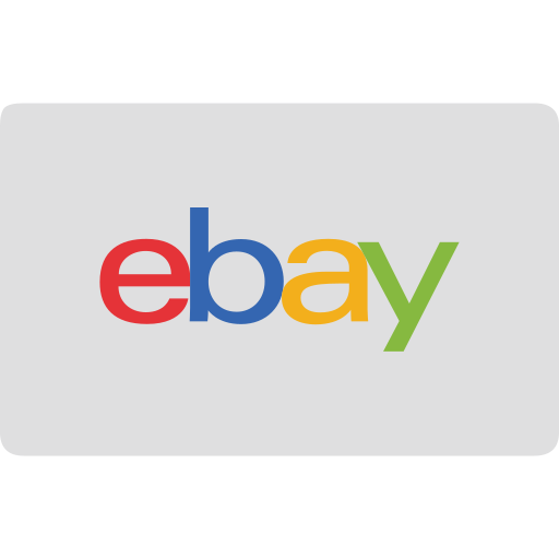 card, cash, checkout, credit, ebay icon