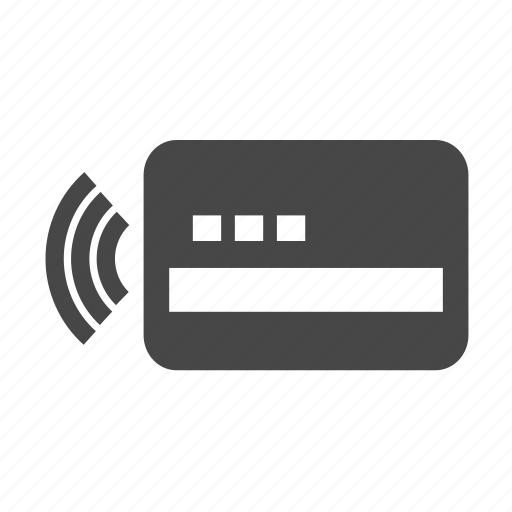 card, credit, payment, wi-fi icon