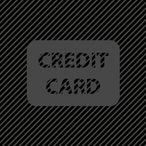 credit card, finance icon