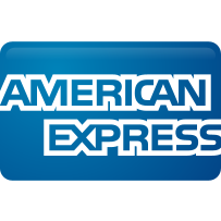 american, curved, express icon
