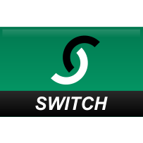 straight, switch icon