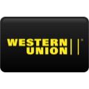 western, union, curved icon