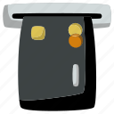 atm, card, cash, credit, money, payment, withdraw icon