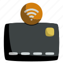 card, cash, contactless, credit, money, nfc, payment icon