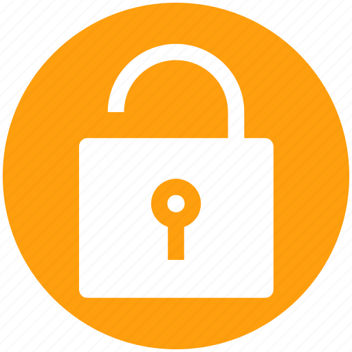 access, padlock, secure, security, unlock icon