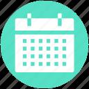 agenda, calendar, date, plan, schedule icon