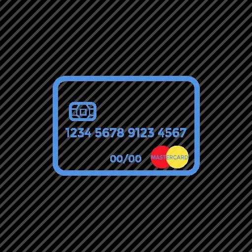 Card, code, credit, debit, design, mastercard, sim icon - Download on Iconfinder
