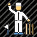 championship, cricket, judge, judge icon