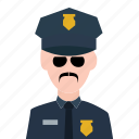 crime, guard, officer, police, police officer, policeman, security