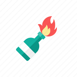 cocktail, molotov icon
