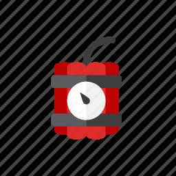 bomb, time icon