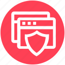 pages, protection, safe, security, shield