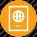 documents, id, identification, passport, travel