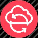 cloud, refresh, security, sync, synchronization icon