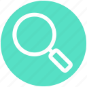crime, find, magnifier, search, view icon