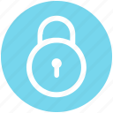 lock, padlock, password, secure, security