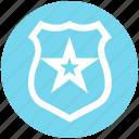 emblem, police badge, security badge, sheriff badge, star badge
