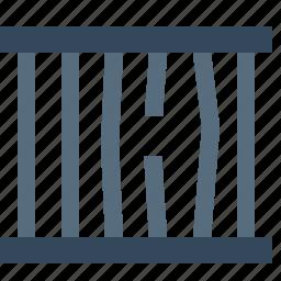 block, breaker, cell, crime, criminal, jail, prison icon
