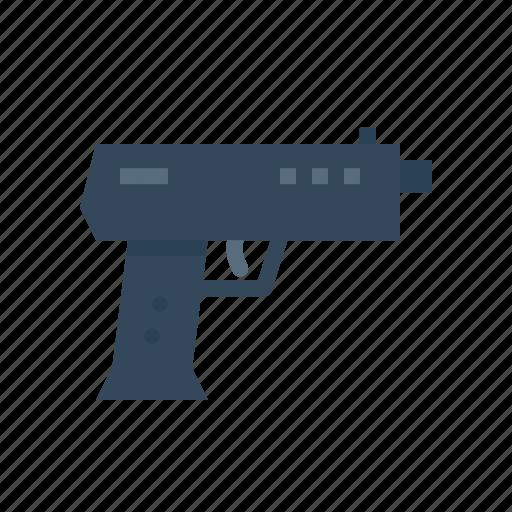 caution, cop, crime, firearm, gang, gun, safety icon