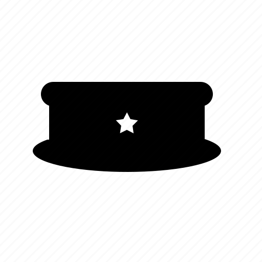 Cap, hat, police, sheriff, uniform icon - Download on Iconfinder