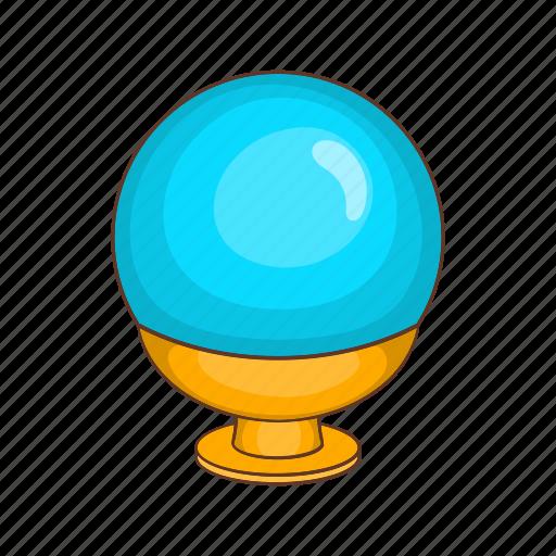 ball, cartoon, glass, globe, magic, magical, sphere icon
