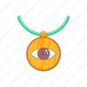 amulet, cartoon, evil, eye, protection, turkey, turkish icon