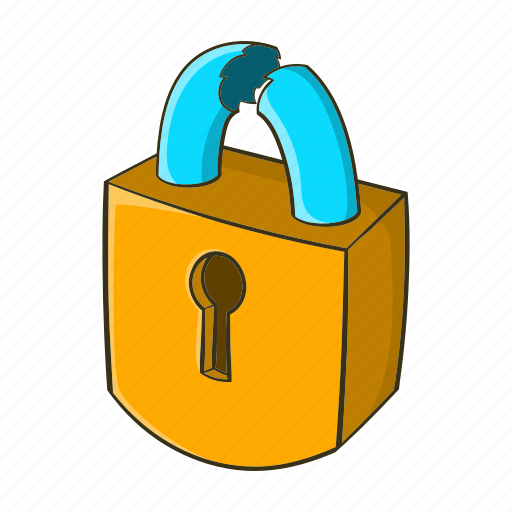 Image result for lock cartoon