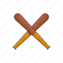 bandit, baseball, bat, cartoon, professional, training, wood icon