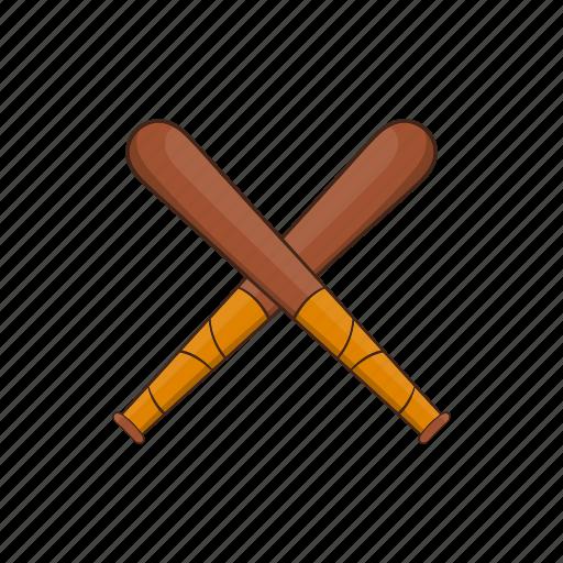 bandit, baseball, bat, cartoon, professional, training, wood icon