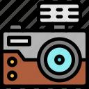 camera, crime, investigation, photo icon