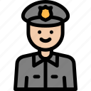 cop, crime, investigation, policeman icon