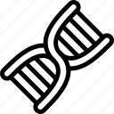 biologic, data, dna, investigation icon