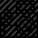 blitz, camera, crime, investigation icon