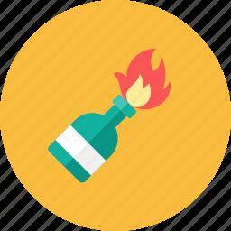 cocktail, molotov icon