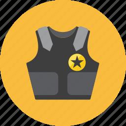 flak, vest icon