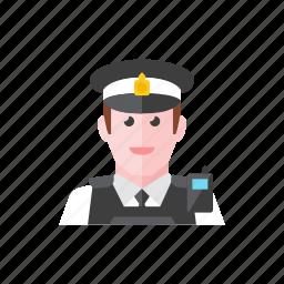 3, policeman icon
