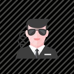 agent, secret icon