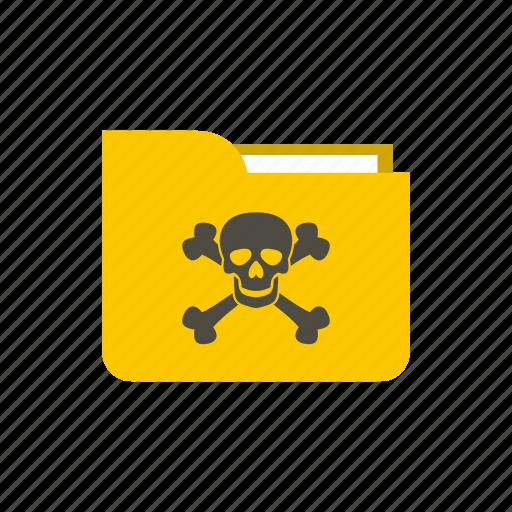 break, destroy, e-mail, harm, infect, spoil, virus icon