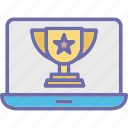 achievement, online award, online reputation, reputation management icon