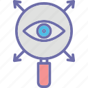 checking, conception, monitoring, remote monitoring icon