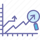 analytics, data analysis, data visualization, graph folder icon