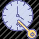 deadline, reminder, schedule planning, time management icon