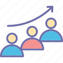 career advancement, career development, career growth, career success icon