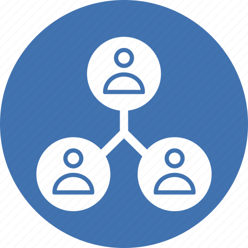 administration, leadership, organization, team icon