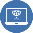 achievement, online award, online reputation, reputation management, trophy award icon
