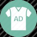 advertisement, branding, clothing ad, marketing icon