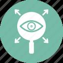 checking, conception, monitoring, remote monitoring icon
