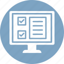agenda, checklist, planner, product list icon