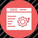 information technology, programming, seo, software development icon