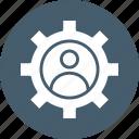 admin account, profile avatar, profile setting, update profile icon